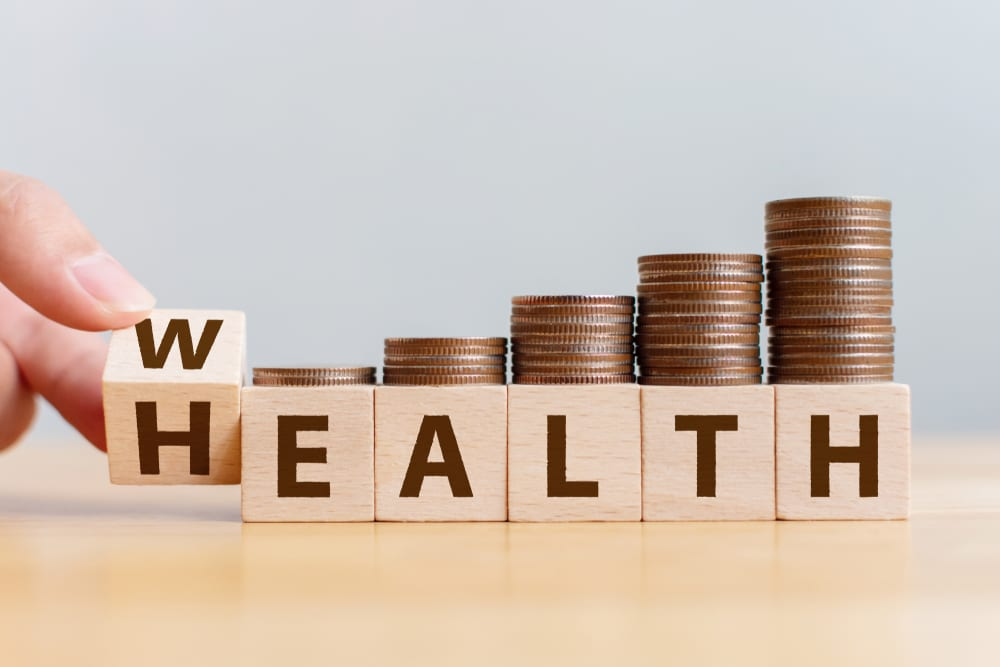 WHY HEALTH IS WEALTH