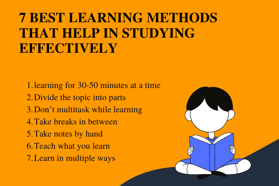 7 Best learning methods