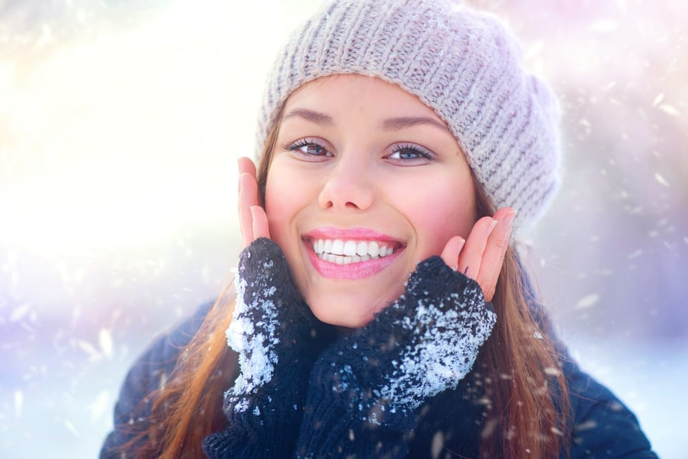 Skin protection in winters